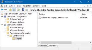 How to Check the Applied Group Policy Settings in Windows 10 – Office Setup