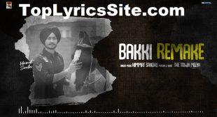 Bakki Remake Lyrics – Himmat Sandhu – TopLyricsSite.com