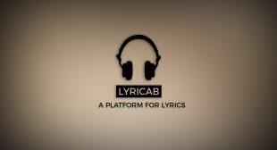 Lyricab | A Platform For Lyrics