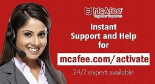 WELCOME TO YOUR MCAFEE.COM/ACTIVATE
