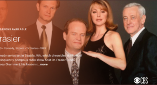 How to Stream Frasier without Cable