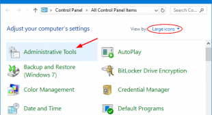 How to Open ODBC Data Source Administrator on Windows 10