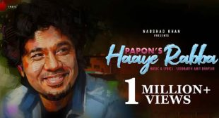 Haaye Rabba Lyrics – Papon