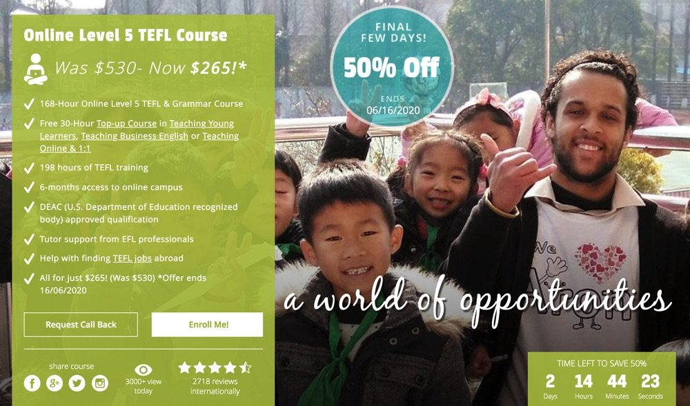 Best TEFL Level 5 Courses Online
