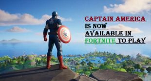 Captain America is Now Available in Fortnite to Play